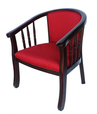 9628R כסא לובי מרופד