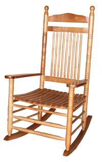 כסא נדנדה מעץ 20049