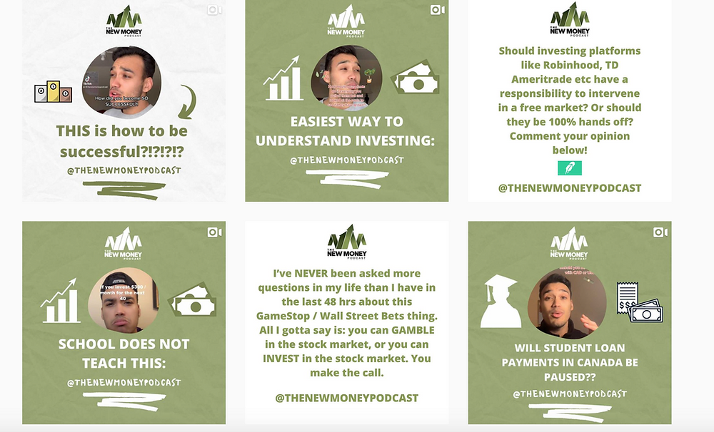 Follow @TheNewMoneyPodcast on Instagram