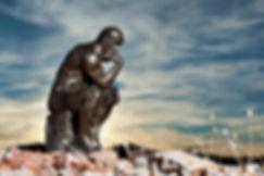 Rodin's-The-Thinker-at-Sunset-155359568_