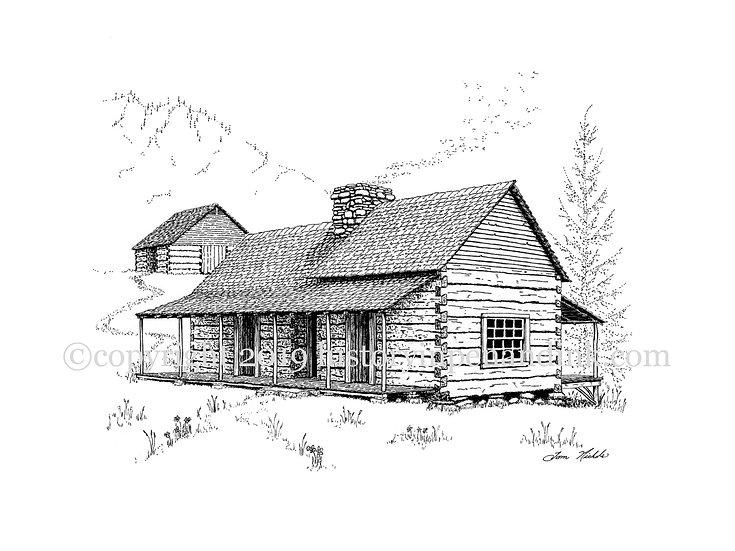Noah (Bud) Ogle Cabin, Tennessee