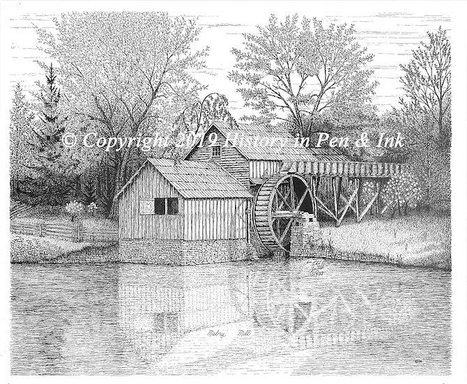 Mabry Mill on the Blue Ridge Parkway, Virginia