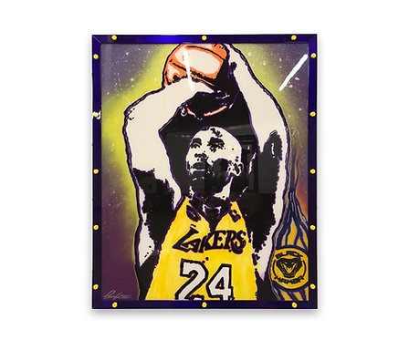 Mr Pink Kobe Bryant Painting