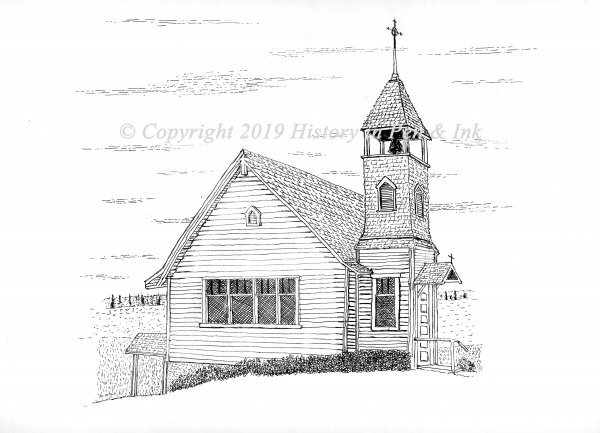 Historic Church at Allyn, WA