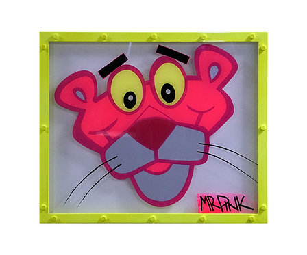 Mr Pink Pink Panther Painting front view