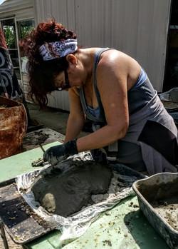 Sculpting a Spirit Mask