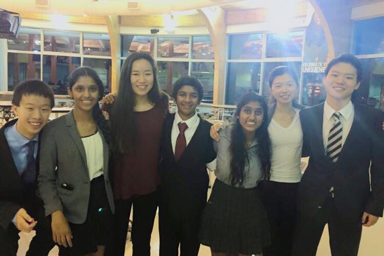 Lexington Debate Novices at States 2015