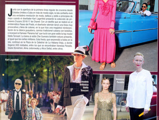 Karl Lagerfeld presenta nueva colección Chanel