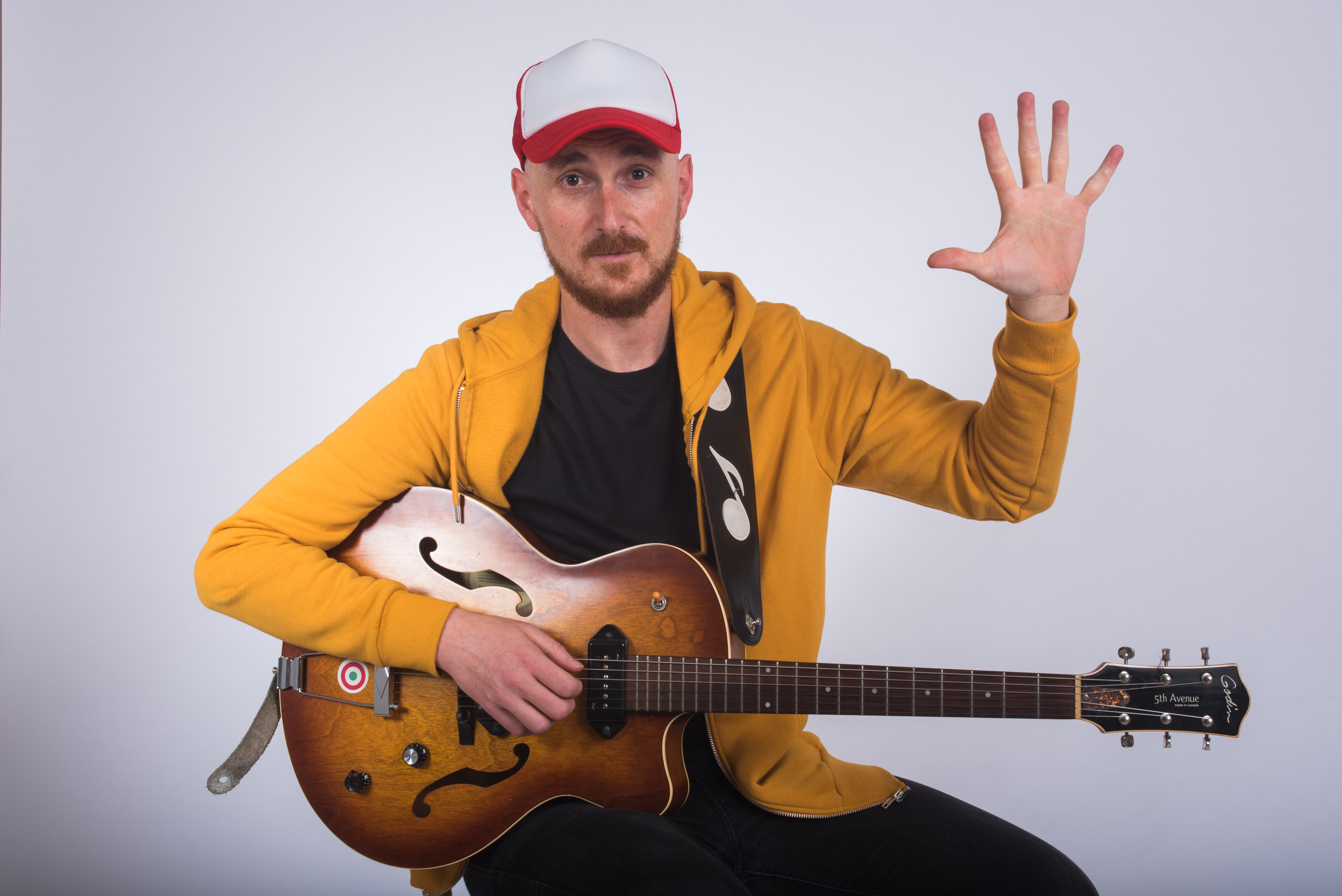 5 x 1 Hour Online Guitar Lesson PACK
