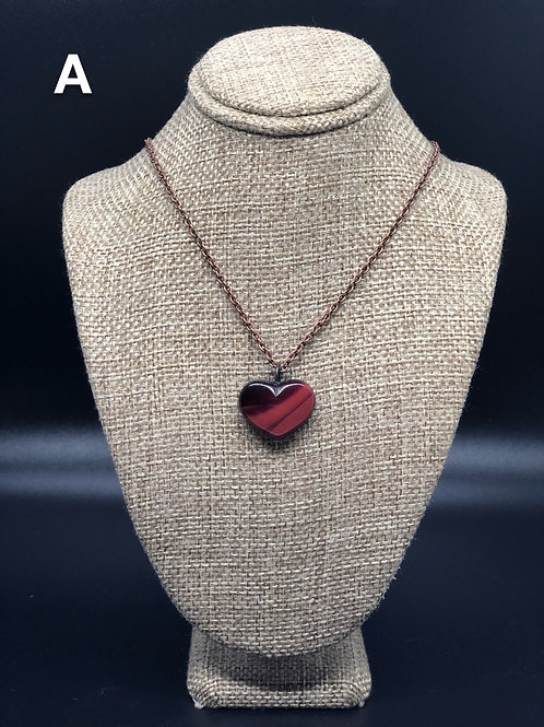 Rosarita Heart Pendant Necklace
