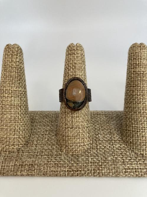 Ocean Jasper Ring