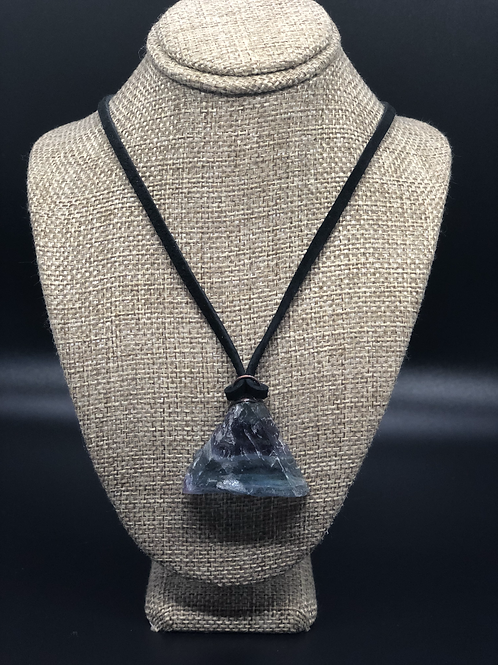 Fluorite Pendant Necklace