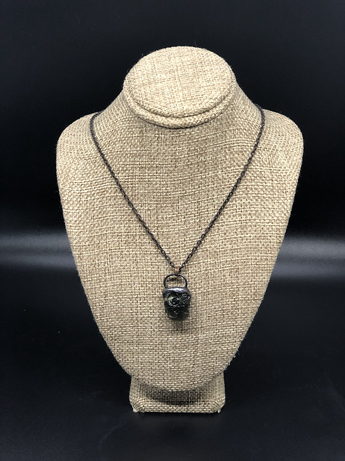 Moldavite Pendant Necklace