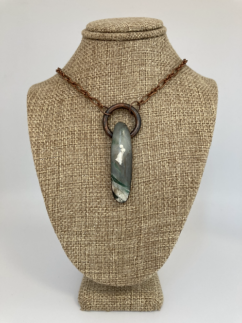 Australian Magneprase Pendant Necklace