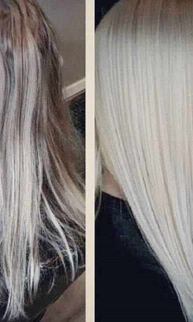 Since this is the #icyblonde season and trend thought I should also post this beautiful #transformation I did on a client a while back ..jpg