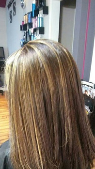 For our junior divas in the salon .. Love this for a beginner she wanted it to pop but with moms permission_._. .jpg