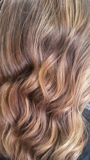 A more #naturallook on this girl with some #babylightsandbalayage This is a great way to work in some color on someone who wants a more sunk