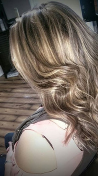 #balayage with #shadow root I did on Sat on a very dear friend of mine didn't want the super blonde just some #carmelblonde  and honey with_