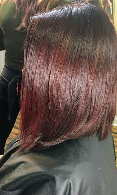 Did a #shadowroot color melt to a mulberry wine red . love this color combo for a rich winter look.jpg