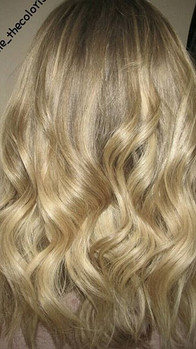 NAILED IT.! Done on virgin hair wanted lighter blonde noticeable but soft and low maintenance...jpg