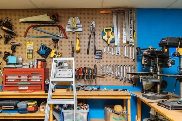 Tool Lending Library... look for one in your city!
