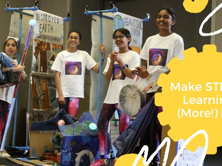 Make STEAM Learning (More!) Fun With Destination Imagination