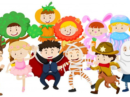 Happy Halloween Costumes!