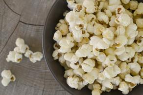 Umami Popcorn with Mushroom Powder