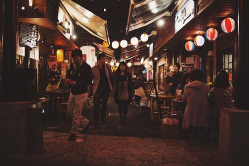 沖繩Okinawa-醉人的夜晚街頭