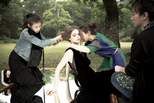 Behind the scene -Athena Chaung 2015FW campaign