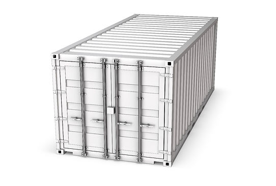 standard type shipping container