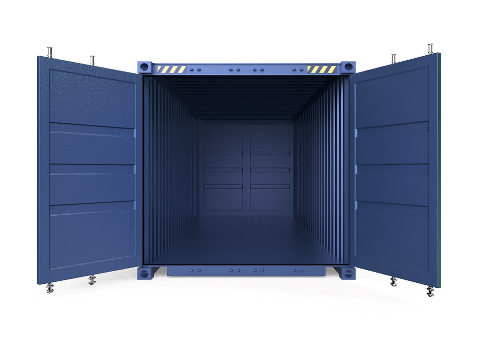 alloy steel shipping container