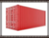 red connex storage container