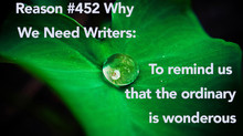 Finding Wonder as a Writer
