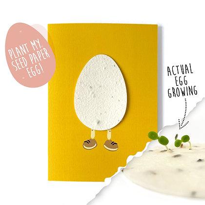 Humpty Plantable Motif Card