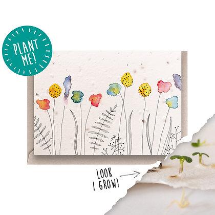 Cornfield Plantable Seed Card