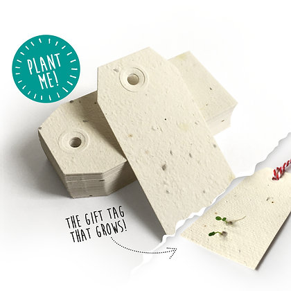 Plantable Parcel Gift Tags