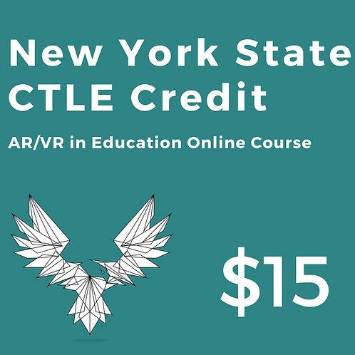 AR/VR in Education Online Course: CTLE Credit