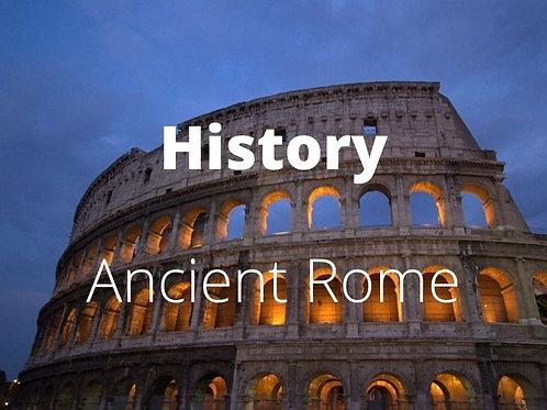 History - Ancient Rome Pax Romana