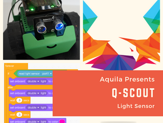 Using a Light Sensor with the Q-Scout