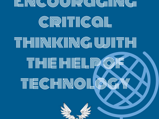 Encouraging critical thinking with the help of technology