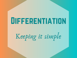 Differentiation - Keeping it simple