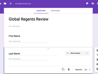 Creating a Differentiated Google Form