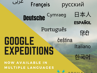 Google Expeditions - New Languages Available