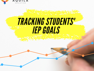 Tracking Students' IEP Goals