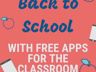 Free Apps for the Classroom