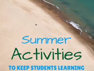 Summer Activities to Keep Students Learning