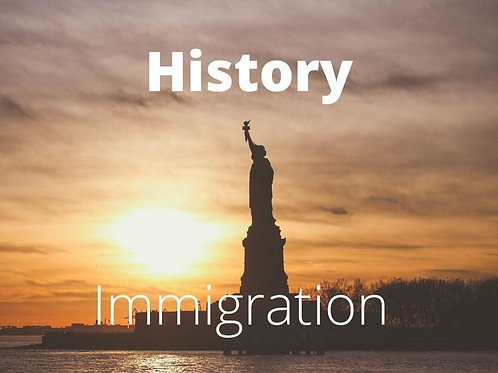 History - Immigration 1900s