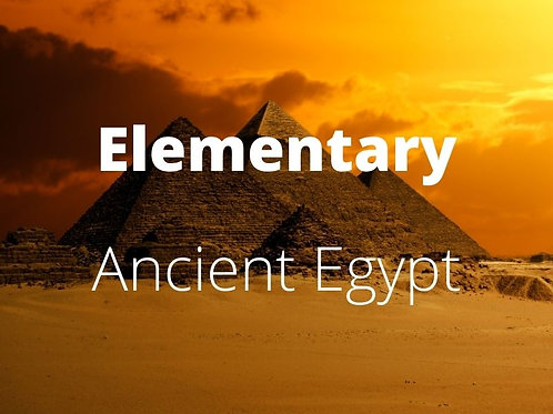 Elementary - Ancient Egypt