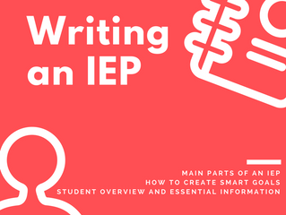 Guide to Writing an IEP